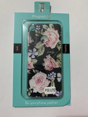 Накладка Phopart для Honor 20 Lite/20s/P30 Lite со стразами, цветы №6762
