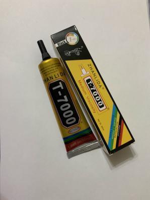 Клей для приклеивания тачскринов ZHANLIDA T-7000 50ml (черный)