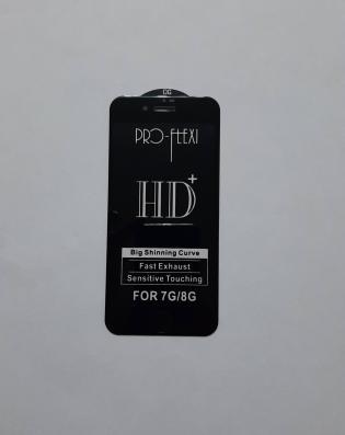 3D Защитное стекло iPhone 7/8/SE 2020 (чёрное)