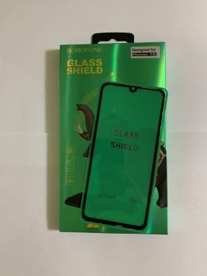 Защитное стекло BOROFONE Elephant Series Full Screen Silk Tempered Glass 2,5D Honor 20/10i 0,33 мм (черное)