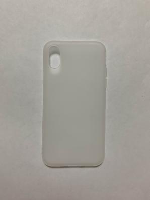 Чехол Color Matt Lite для iPhone XS/ X матовый, белый