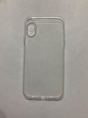 Силиконовый чехол для iPhone XR ультратонкий прозрачный