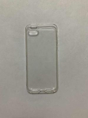 Силиконовый чехол для iPhone 5S/ SE ультратонкий прозрачный