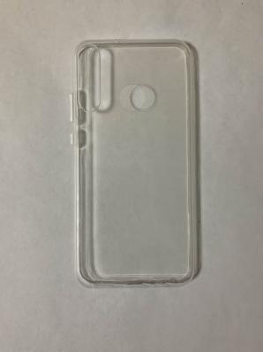 Силиконовый чехол для Honor 9C/ Huawei P40 Lite E (2020) ультратонкий прозрачный