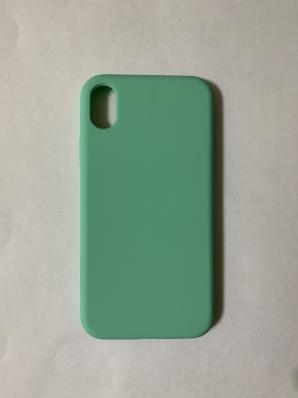 Силиконовый чехол Full Case для iPhone XR, мятный