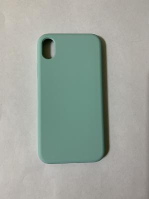 Силиконовый чехол Full Case для iPhone XR, морской синий
