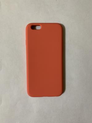 Силиконовый чехол Full Case для iPhone 6/ 6S, оранжево-розовый