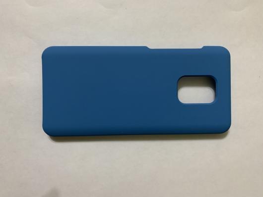 Чехол Silicone Cover для Xiaomi Redmi Note 9S/ Note 9 Pro (2020) синий