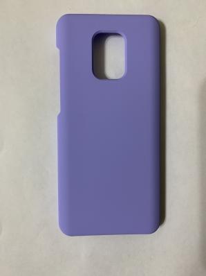 Чехол Silicone Cover для Xiaomi Redmi Note 9S/ Note 9 Pro (2020) светло-сиреневый