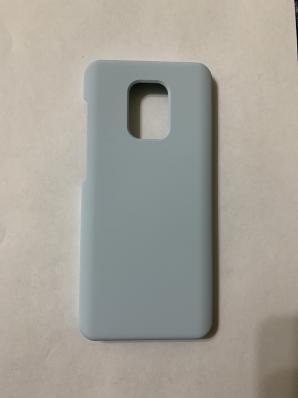 Чехол Silicone Cover для Xiaomi Redmi Note 9S/ Note 9 Pro (2020) голубой