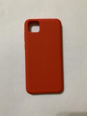 Чехол Silicone Cover для Honor 9S/ Huawei Y5P (2020) красный