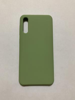 Чехол Silicone Cover для Samsung Galaxy A50, A505F (2019) мятно-зеленый