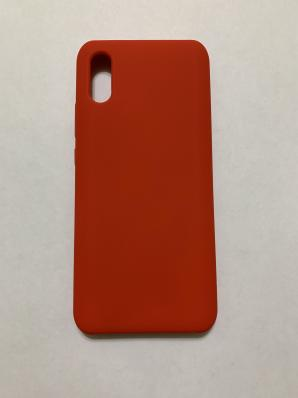 Чехол Silicone Cover для Xiaomi Redmi 9A (2020) красный