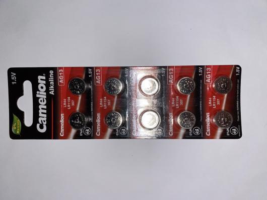 Батарейка часовая Smartbuy AG13 (357, LR1154, LR44) 10шт. в блистере