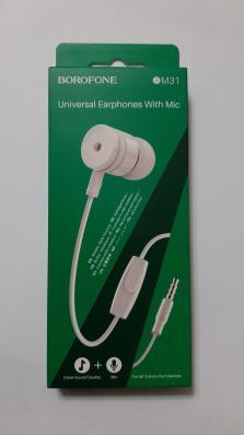 Гарнитура BOROFONE BM31 Mysterious Universal Earphones With Mic