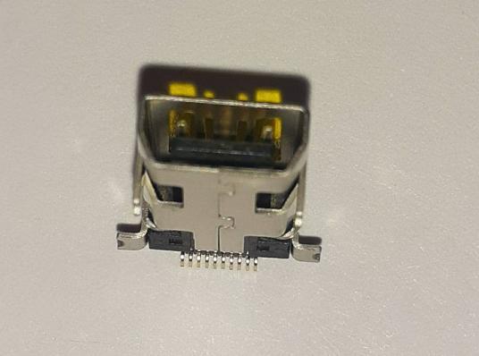 Разъем зарядки для Philips K700/ M600/ X116/ X312/ X503/ X513/ X530/ X703/ X806 mini-USB