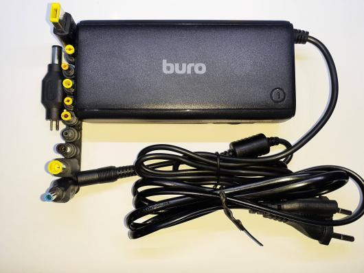 Блок питания для ноутбука BURO BUM-1187H90, 90Вт, черный
