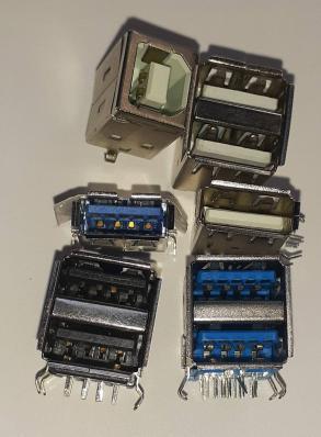 Гнездо USB