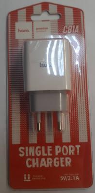 СЗУ HOCO C81A Asombroso Single Port Charger (EU) (белое)